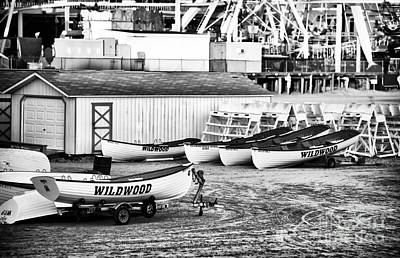 Photograph - Wildwood Boats by John Rizzuto