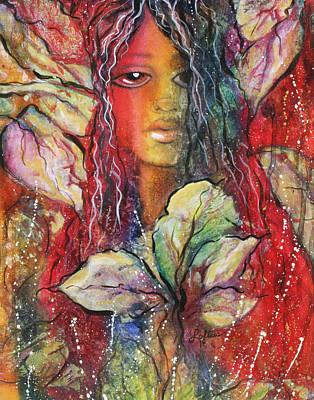 Wildwood Bohemian Art Print by Joann Loftus