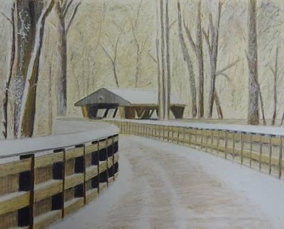 Wildwood Bridge Art Print by Samuel McMullen