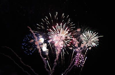 Photograph - Wildwood Fireworks by Greg Graham