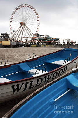 Old School Galleries Photograph - Wildwood by John Rizzuto