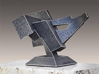 Sculpture - Wilee Coyote  by Richard Arfsten