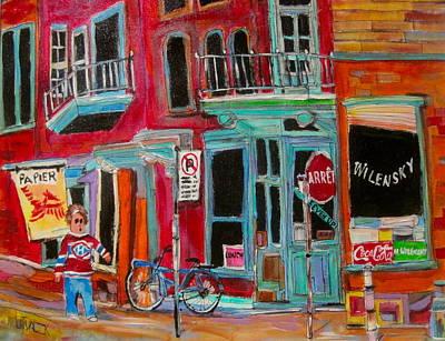 Wilensky Snack Bar Painting - Wilensky Spring #2 by Michael Litvack