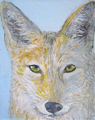 Painting - Wiley Coyote by Sandra Lytch