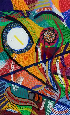 Wilfried Art Print by Patrick OLeary