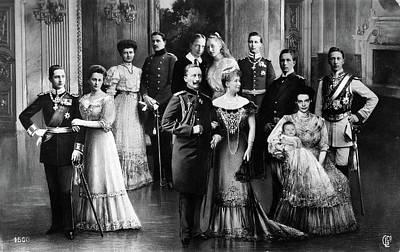 Crown Victoria Painting - Wilhelm II (1859-1941) by Granger