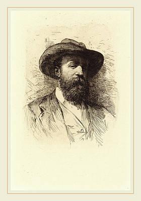 Self-portrait Drawing - Wilhelm Unger German, 1775-1855, Self-portrait by Litz Collection