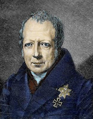 18th Century Photograph - Wilhelm Von Humboldt (1767-1835 by Prisma Archivo