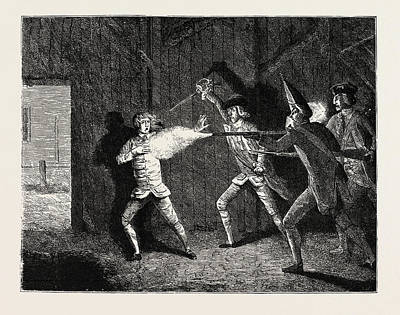 Wilkes And Liberty Riots, 1768, A Scotch Victory Art Print by English School