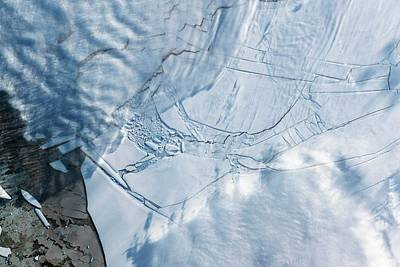 Wilkins Ice Shelf Art Print by Nasa