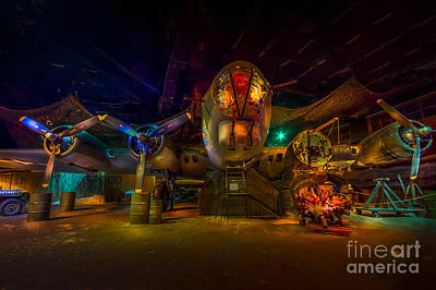 B-17 Wall Art - Photograph - Will Be Ready At 0600 by Marvin Spates