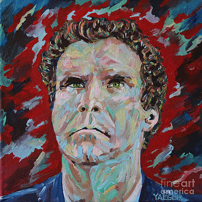 Saturday Night Live Painting - Will Ferrell Portrait by Robert Yaeger