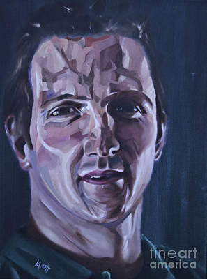 Painting - Will Greenwood by James Lavott