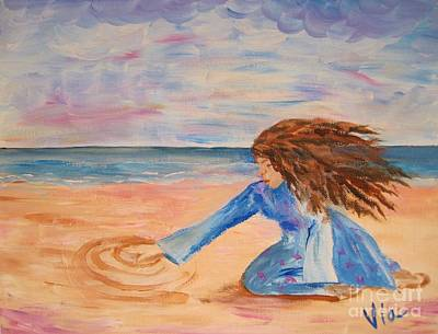 Painting - Will She Still Have Dreams by Judy Via-Wolff