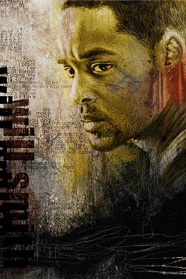 Painting - Will Smith by Corporate Art Task Force