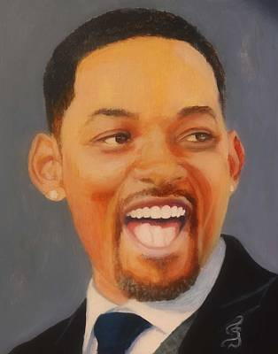 Painting - Will Smith by Shirl Theis