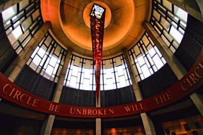 Country Music Hall Of Fame And Museum Photograph - Will The Circle Be Unbroken by Dan Sproul