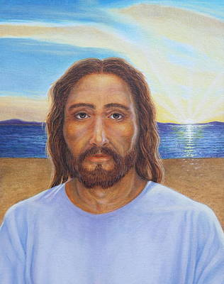 Painting - Will You Follow Me - Jesus by Michele Myers