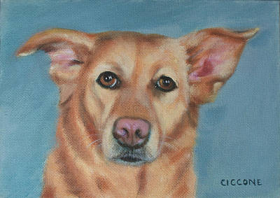 Painting - Willa Mae by Jill Ciccone Pike