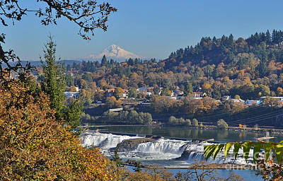 Photograph - Willamette Fallls by Ansel Price