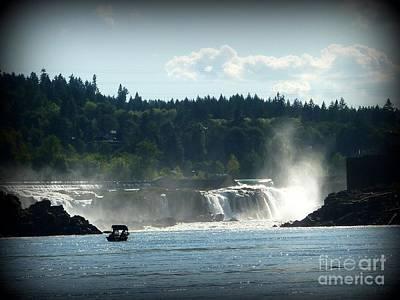 Photograph - Willamette Falls Oregon 2 by Susan Garren