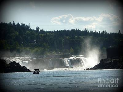 Photograph - Willamette Falls Oregon by Susan Garren