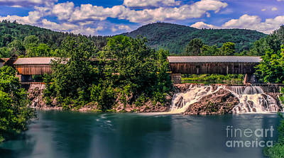Photograph - Willard Twin Bridge. by New England Photography