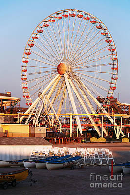 Photograph - Willdwood Ferris Wheel by John Rizzuto