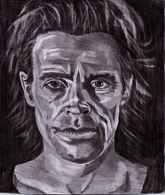 Drawing - Willem Dafoe by Timothy Fleming