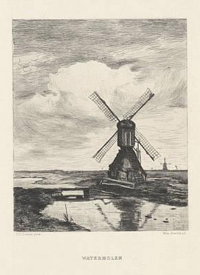 Willem Steelink II, J. Bouwens Art Print