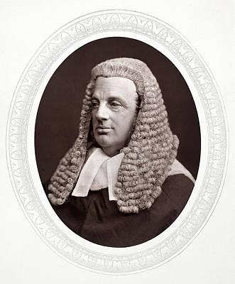 Esher Photograph - William Balliol Brett (1817-1899) by Granger