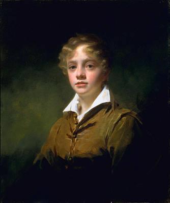 Curly Hair Painting - William Blair, C.1814 by Sir Henry Raeburn