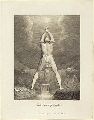 Blake Drawing - William Blake After Henry Fuseli British by Quint Lox