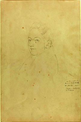 Blake Drawing - William Blake, British 1757-1827, John Linnell by Litz Collection