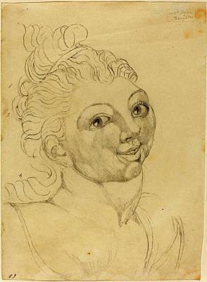 Blake Drawing - William Blake British, 1757 - 1827, Wat Tylers Daughter by Quint Lox