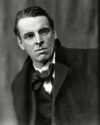 Bowtie Photograph - William Butler Yeats Wearing A Bowtie by Arnold Genthe