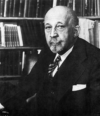 Photograph - William E. B. Dubois by Underwood Archives