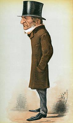 Painting - William Ewart Gladstone (1809-1898) by Granger