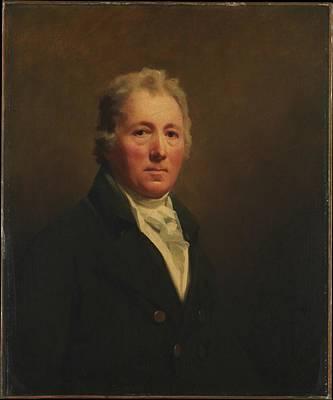 William Forsyth 1749-1814 Art Print by Sir Henry Raeburn