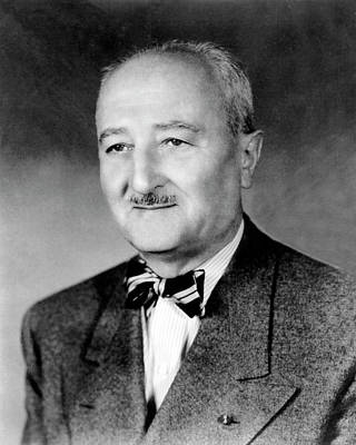 Williams Photograph - William Friedman by National Security Agency