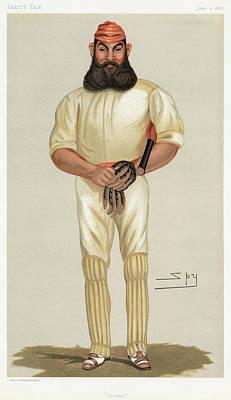 William Gilbert Grace (1848-1915) Art Print by Granger