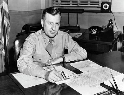 Atc Photograph - William H. Tunner by Us Air Force