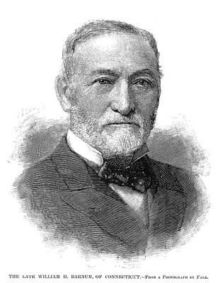 Democrat Painting - William Henry Barnum (1818-1889) by Granger