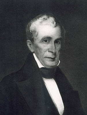 President Of The Usa Painting - William Henry Harrison by Eliphalet Frazer Andrews
