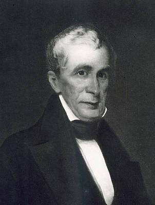 Presidential Portrait Painting - William Henry Harrison by Eliphalet Frazer Andrews