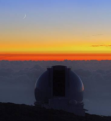 Telescope Dome Photograph - William Herschel Telescope by Babak Tafreshi
