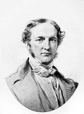 Prescott Drawing - William Hickling Prescott (1796-1859) by Granger