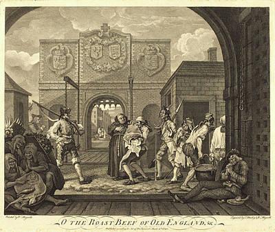 William Hogarth And Charles Mosley Art Print