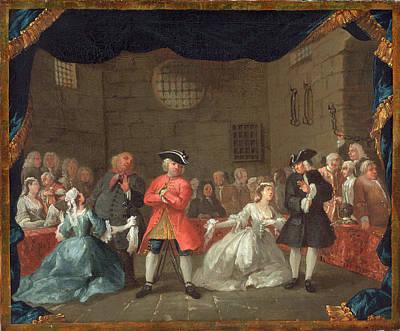 Hogarth Painting - William Hogarth English, 1697 - 1764, A Scene by Quint Lox