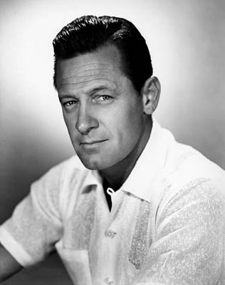 Cleft Chin Photograph - William Holden, Paramount Portrait, 1955 by Everett